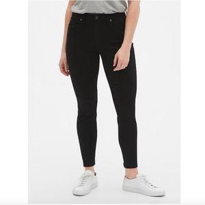 GAP Mid Rise Curvy Skinny Stretch Denim Jeans